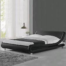 super low bed frame. Simple Bed Modern Cool Designer Bed Frame Black Super King Size Low Italian Desi On