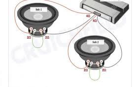 admin aeroclubcomo info Subwoofer Wiring Diagram Dual 4 Ohm wiring diagram for 2 dual 4 ohm subs to 2 ohm Dual 4 Ohm Sub Wiring