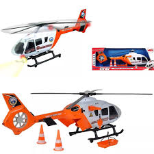 Dickie Helicopter Light And Sound Helicopter Dickie Toys Light Sound Sos Rescue Moving Blades