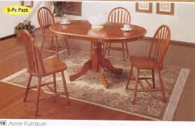 399 00 some embly may be required please see details 5pcs oak finish wood oval dining table 4 windsor chairs this