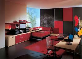 black and red bedroom. View In Gallery Black And Red Bedroom W