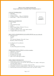 Resume Format For Job – Resume Tutorial Pro