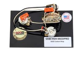 strat wiring harnesses sigler music Custom Guitar Wiring Harness 920d custom shop 5 way hsh wiring harness w super switch for modern pro custom made guitar wiring harness