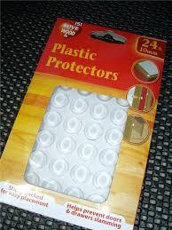 Cabinet Door Buffers Plastic Protectors Dots Pads Self Adhesive Cabinet Buffers Drawer