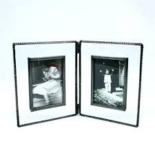 double sided glass frame 5x7 unique ensign frames ideas photo picture hori