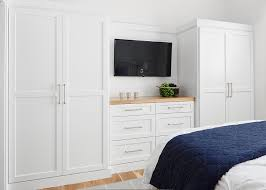 bedroom built in dresser design ideas