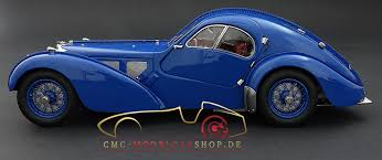 In 1936, bugatti developed the type 57 sc coupé, a sports car that is still considered one of the most beautiful in automobile history. Cmc M083 Bugatti T57 Atlantic Sc I Cmc Modelcarshop De