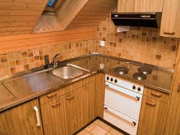 Attic Kitchen Filebrown Wood Kitchen In Atticjpg Wikimedia Commons