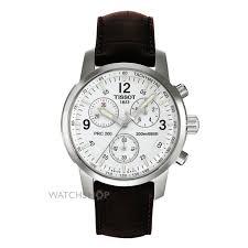 "men s tissot prc200 chronograph watch t17151632 watch shop comâ""¢ mens tissot prc200 chronograph watch t17151632"