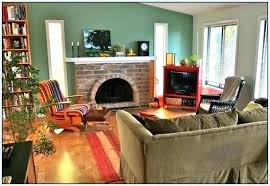 Fireplace Paint Colors Full Size Of Painting Red Brick For Living Room With