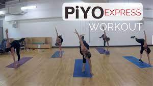 40 min piyo workout 62 at home no