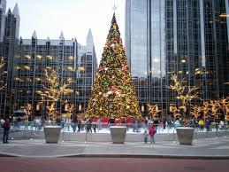 Christmas Lights In Pittsburgh Pa Christmas Pittsburgh Pa Christmas Tree In Downtown