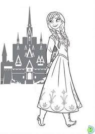 Small Picture Coloriage affiche la reine des neiges Disneys Frozen