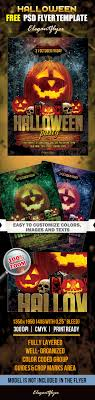 halloween template flyer 20 free psd halloween flyer templates free psd templates