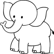 Pin By Pu On Cute Baby Elephant Coloring Pages Elephants Creative