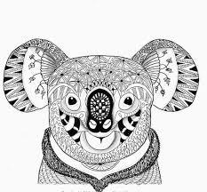 25 Ontwerp Dieren Moeilijk Kleurplaat Mandala Kleurplaat Voor Kinderen