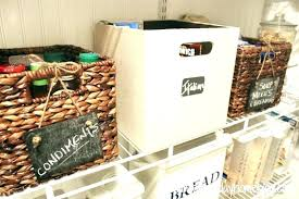 baskets with chalkboard labels baskets with chalkboard labels any food item which falls into this