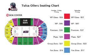 Tulsaseatingchart Tulsa Oilers