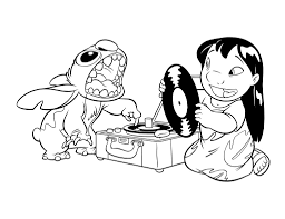 Small Picture 32 best lilo and stitch Coloring Pages images on Pinterest Lilo