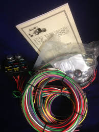 12 circuit wiring harness ewiring 12 circuit ez wiring harness chevy mopar ford street hot rod