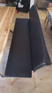 Esszimmer Garnitur Esstisch Massivholz Leder In 12529