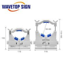 WaveTopSign Co2 <b>держатель</b> для <b>лазерной</b> трубки с поддержкой ...