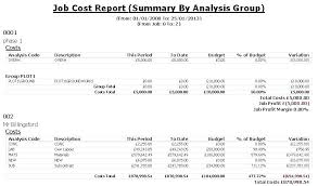 Job Cost Report Template Excel Unique Analysis Free Templates Format Awesome Cost Analysis Format