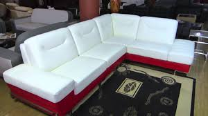 modern line furniture. White \u0026 Red Leather Modern Sectional Sofa By Line Furniture R