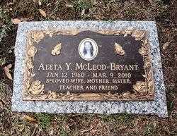 Aleta McLeod Bryant (1960-2010) - Find A Grave Memorial