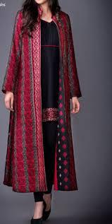 Overcoat Gown Designs Boho Vintage Jacket Pakistani Dress Design Shrug For