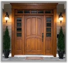 front door with one sidelightFront Door With Sidelights And Transom