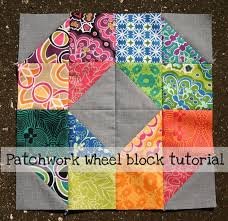 225 best T is for Triangle's images on Pinterest & #FreeQuiltingPattern - Check out this great free Patchwork Wheel Block  Tutorial! Click the image Adamdwight.com