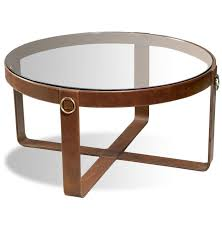 best 25 leather coffee table ideas on inside round inspirations 14