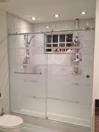 frosted sliding shower doors. Trackless Shower Doors 2014 Frosted Sliding O