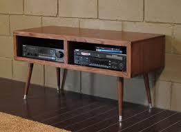 contemporary media console furniture. mid century modern retro tv stand mayan double bay mocha contemporary media console furniture