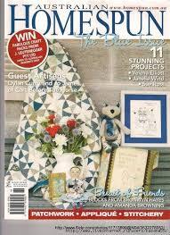 603 best Quilt - Books and Magazines ✄ images on Pinterest ... & Australian Homespun Magazine Adamdwight.com