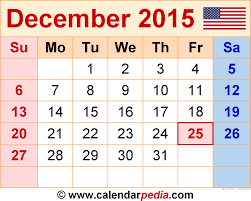 Calendar Blank 2015 December 2015 Calendar In Blank Otohondalongan Com