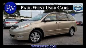 Used 2006 Toyota Sienna For Sale in Gainesville, FL - YouTube