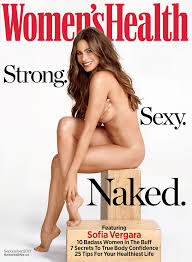 Sofia Vergara Women s Health Nude Cover Anti Aging Skin Care.
