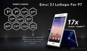 Emui 3.1 Android 5.1 Manual Ota Update For Ascend P7 ...