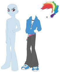 A source for the best mlp bases, including mlp base for pegasus, unicorn, alicorn, eg, group, couple, sad, mane 6, filly, and many more mlp bases for use with ms paint.header Equestria Boys Rainbow Blitz Base By Selenaede On Deviantart
