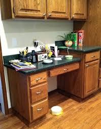 ideas for a kitchen desk area kitchen desk ideas kitchen computer desk ideas