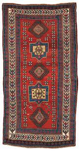 kazak rug southern caucasus c 1860 lot 22 estimate 3 000 4 000