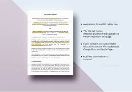 Franchise Agreement Template – 12+ Free Word, Pdf Documents Download ...