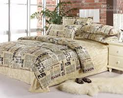 English Newspaper Bedding Comforter Set Queen Size Comforters Sets ... & English Newspaper Bedding Comforter Set Queen Size Comforters Sets Bed  Sheet Quilt Duvet Cover Bedspread Bedclothes Bedsheet 100% Cotton Home  Texiles ... Adamdwight.com