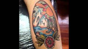 тату горы 66 фото татуировки эскизы значение мужских и женских