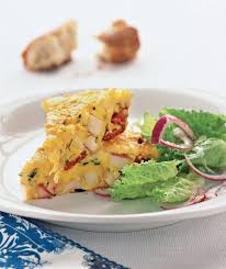 easy home cooked dinner ideas. spanish omelet with potatoes and chorizo easy home cooked dinner ideas