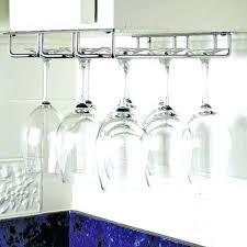 hanging wine glass rack ikea hanging wine glass rack hanging stemware rack zoom hanging wine glass