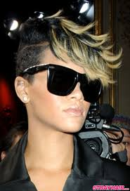 Rhianna Hair Style rihannas many great short hairstyles strayhair 6018 by wearticles.com