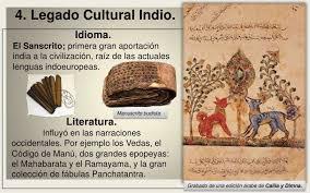 4. Legado Cultural Indio.<br /> Idioma.<br /> El Sanscrito; primera gran  aportación india a la civilización, raíz de las act... | India, Sanscrito,  Civilizacion